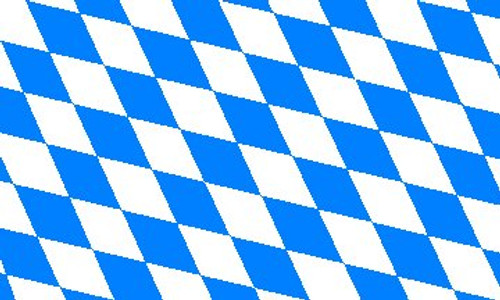 Bavaria Diamond Pattern Flag 3' x 5'