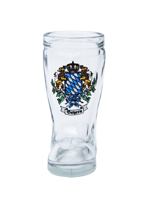 Beer Boot Shot Glass with Bavaria Crest