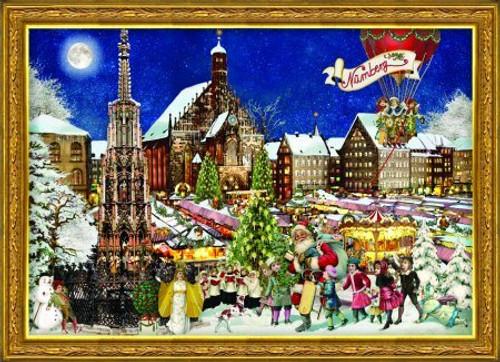 2011 Christmas in Nuremberg German Advent Calendar
