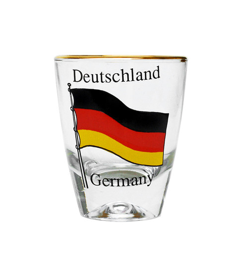 Deutschland Flag Shot Glass