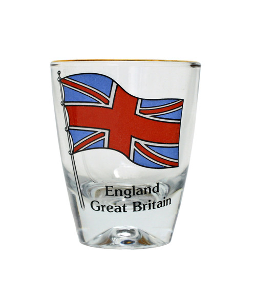 England Great Britain Shot Glass