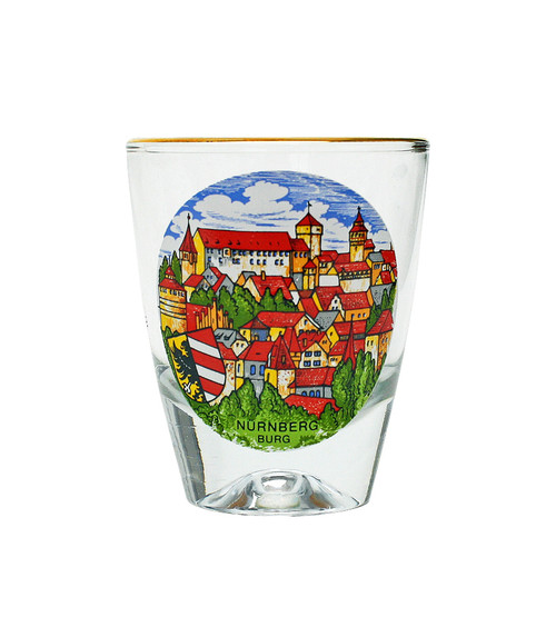 Nuremberg Shot Glass