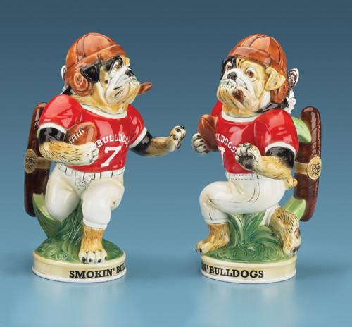 Football Smokin' Bulldog Beer Stein