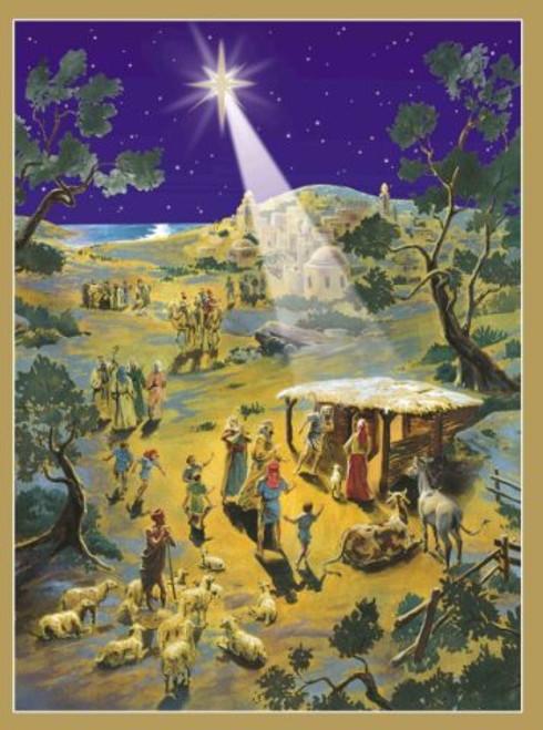 Silent Night German Advent Calendar