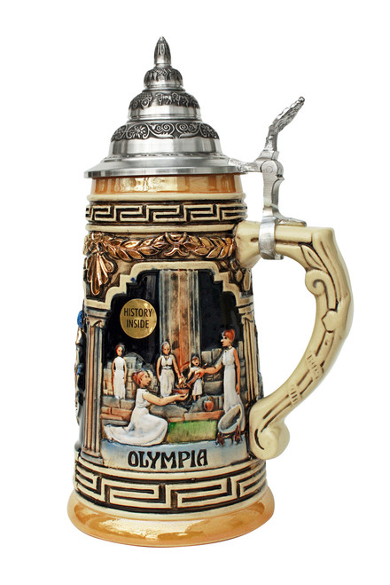 Greece Beer Stein