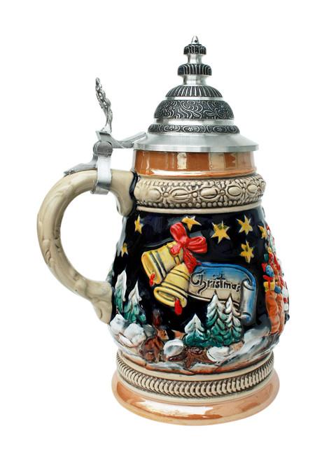 Santa's Sleigh Alpine Christmas Beer Stein