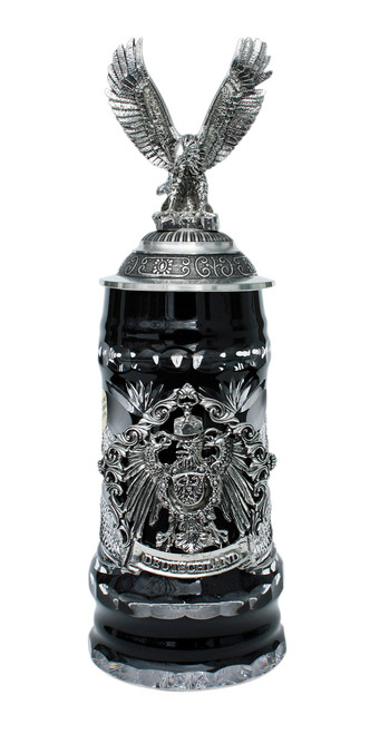 Lord of Crystal German Eagle Beer Stein