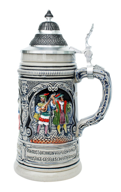Faust Themed Peter Duemler Beer Stein