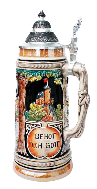 Trumpeter of Sackingen Traditional Beer Stein