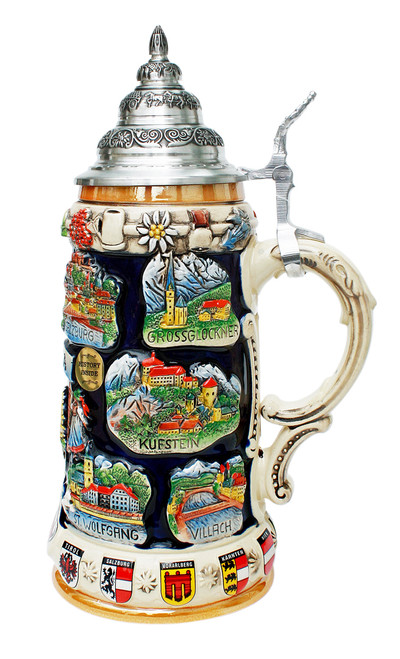 Austria Commemorative Beer Stein