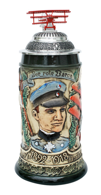 Red Baron Commemorative Beer Stein