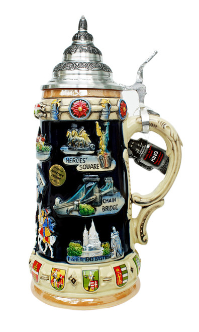 Budapest Commemorative Beer Stein