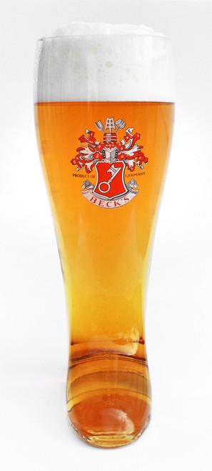 Becks Glass Beer Boot 2 Liter