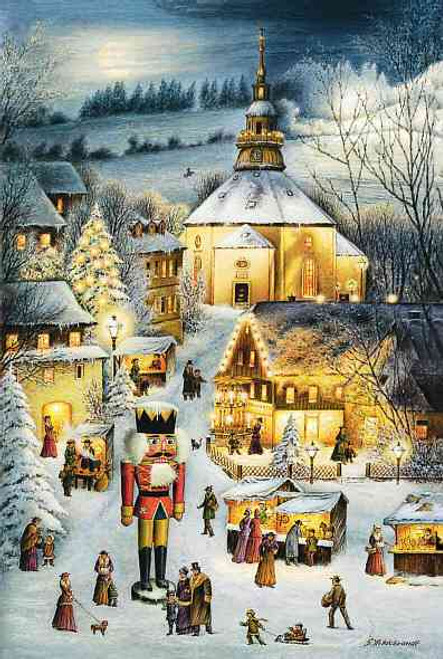 Christmas Seiffen German Advent Calendar