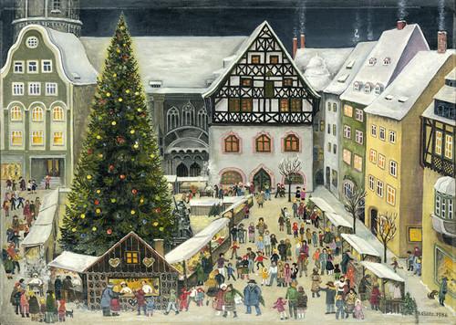 Christmas in Jena Germany Advent Calendar