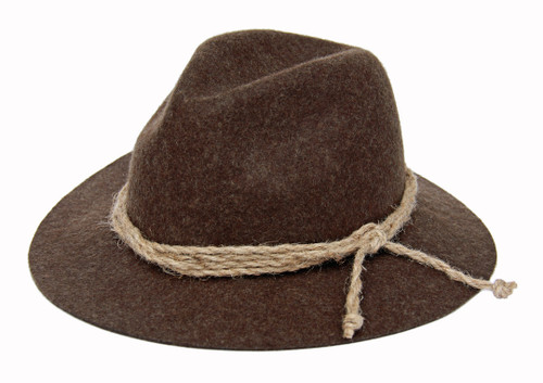 German Country Hat Brown