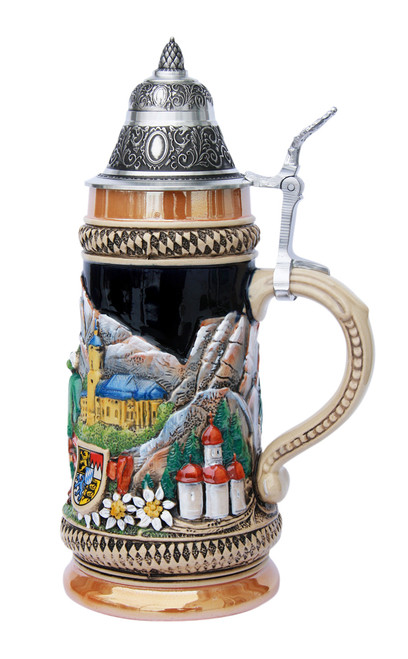 Bavarian Traditions Beer Stein