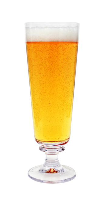 Authentic German Pilsner Beer Glass