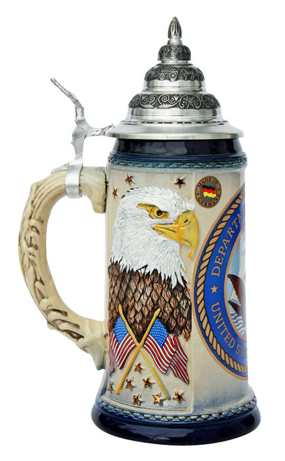 US Navy Beer Stein