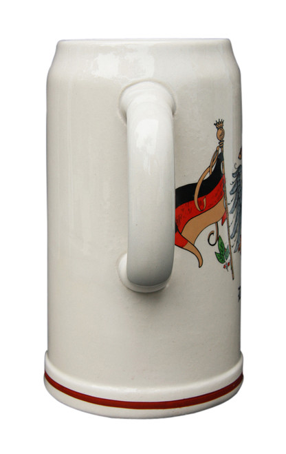 German Beer Mug for Oktoberfest Celebration