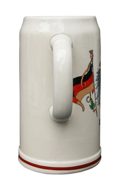 German Beer Mug for Oktoberfest Celebration
