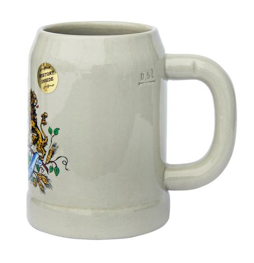 Hofbrauhaus 0.5 Liter Stoneware Beer Mug