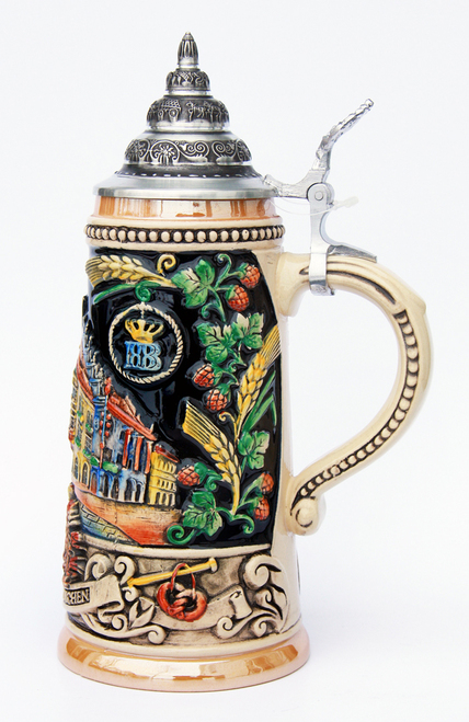 Detailed Beer Stein Gift for 21st Birthday and Wedding Anniversaries