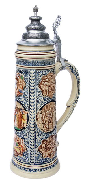 King Limitaet 2008 | Old Testament Handpainted Beer Stein