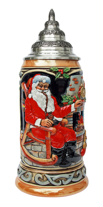 Ceramic Christmas Beer Stein for Sale Online