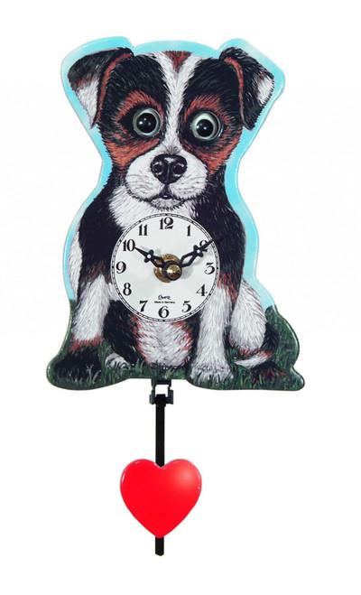 German Dog Mini Clock