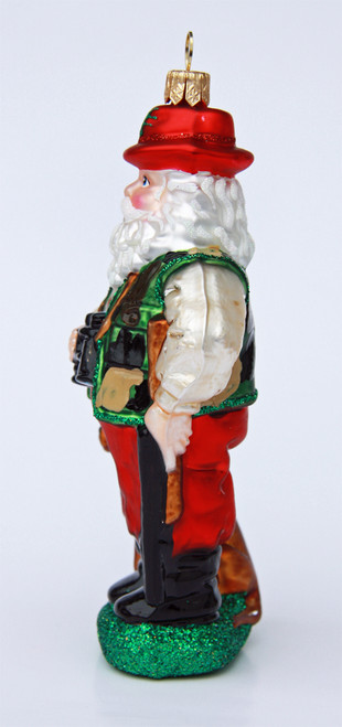 Bavarian Hunter Santa Christmas Ornament
