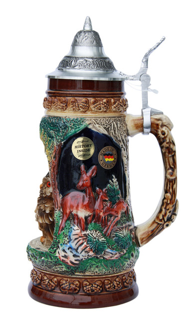 Owl Wildlife Grotto Beer Stein