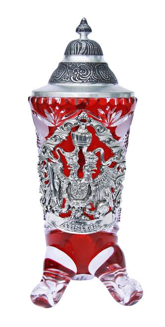 Lord of Crystal Austria Horn Beer Stein