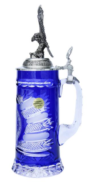 US Air Force Lord of Crystal Beer Stein