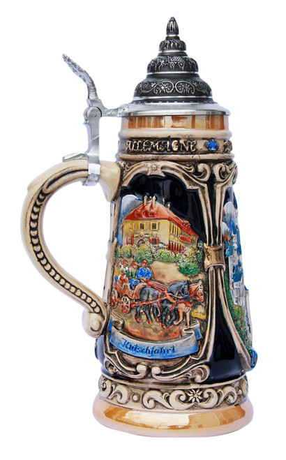 Neuschwanstein and Hohenschwangau Castle Beer Stein