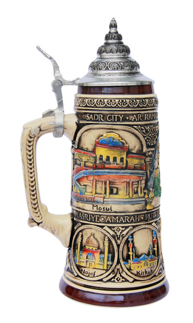 Iraqi Freedom Commemorative Beer Stein