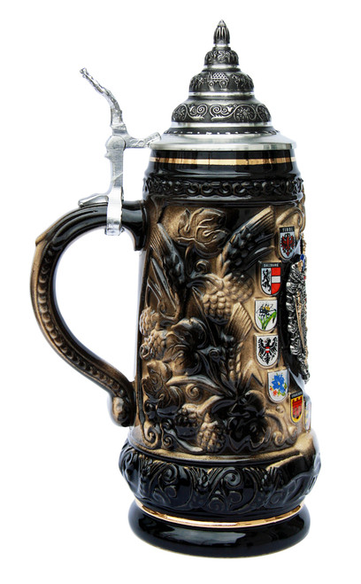 Austria Coat of Arms Beer Stein