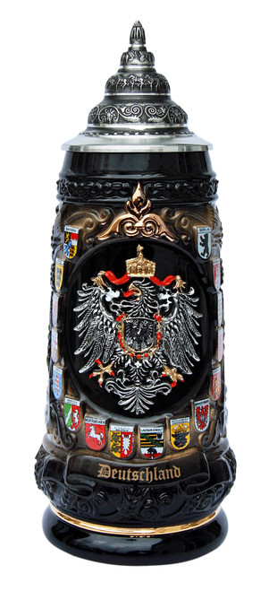 Deutschland Coat of Arms Beer Stein