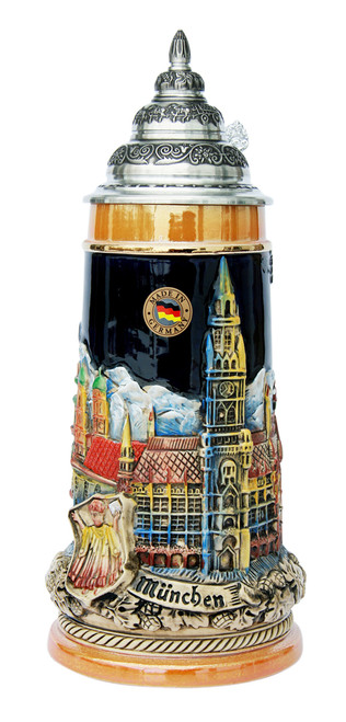 Munich Panorama Beer Stein