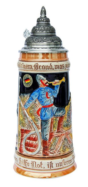 Firemans Beer Stein