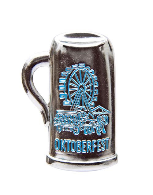 Oktoberfest Beer Mug German Hat Pin