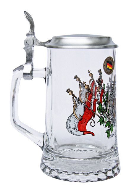 Traditional German Personalized Beer Mug