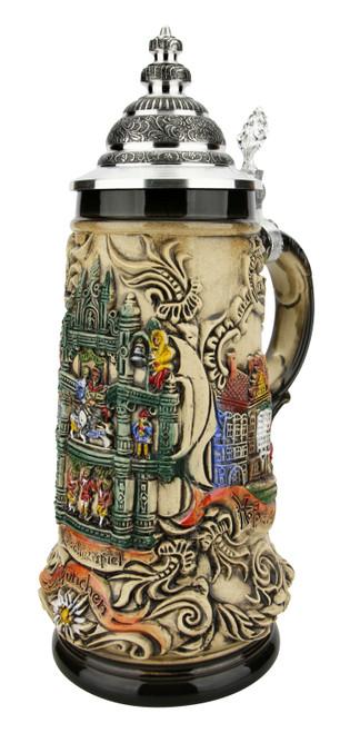 Munich Glockenspiel Beer Stein