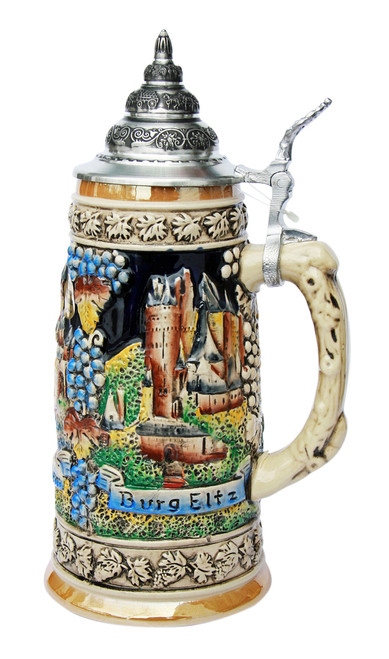 Moselle River Travel Destinations Beer Stein