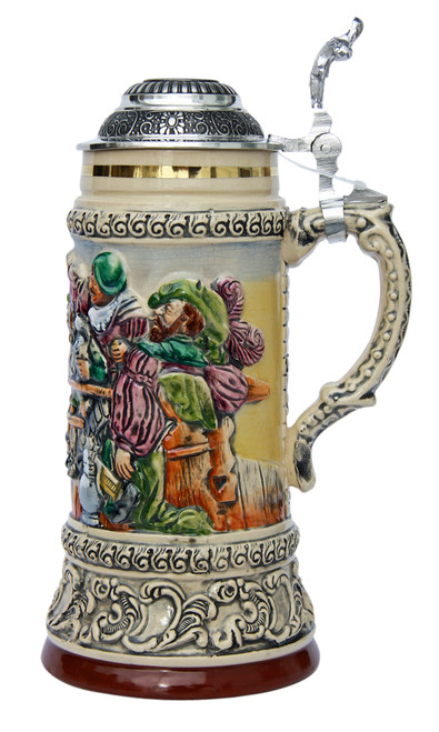 Drinking Knights Beer Stein