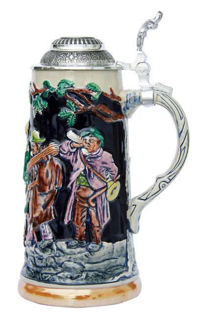 Drinking Musicians Beer Stein