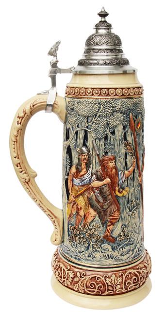 King Limitaet 2014 | Hermann the German Handpainted Beer Stein