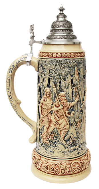 King Limitaet 2014 | Hermann the German Antique Style Beer Stein