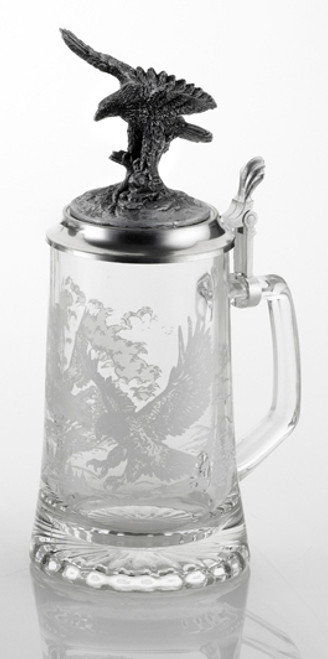 Eagle Glass Beer Stein