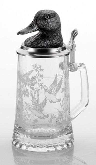 Duck Glass Beer Stein